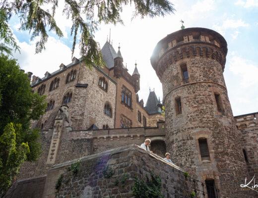 Højt over byen troner slottet – Wernigerode slot